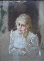 Eugenio Prati Bice olio su tavola 17,5 x 13 cm