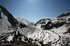 * (Julia Perelman) Tags: travel winter snow mountains river georgia landscape glacier caucasus