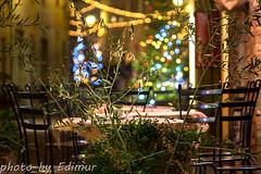 Waiting for a new year (Edimur) Tags: christmas street holiday dinner lights restaurant waiting strada chairs empty tuscany tables luci toscana festa natale sedie ristorante cena capodanno attesa feste cenone tavoli vuoto annonuovo newyear'sevedinner