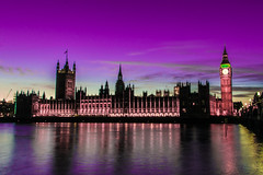 A change of scenery (Alex Woodgate) Tags: longexposure sunset london housesofparliament bigben ultrawide colourplay elizabethtower vision:sunset=0787 vision:clouds=0677 vision:sky=0967 vision:outdoor=0922