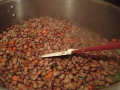 Cooking beans for finished dish (The Experimental Gourmand) Tags: nyc newyorkcity newyork cassoulet jimmysno43 nycfoodevents