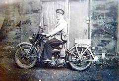Maitland Ambulance Service, Basil Jones (maitland.city library) Tags: jones ambulance motorbike motorcycle basil newsouthwales service maitland macfarlane