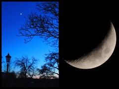 ..4 febr 2014.. (Truus) Tags: blauwe 2014 maan uur febr