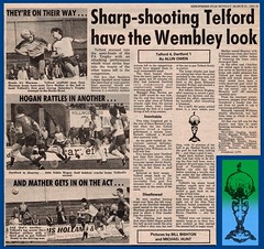 TELFORD UNITED 4 DARTFORD 1 [FA TROPHY Q - F] 1982-83 (bullfield) Tags: telfordunited telford dartford fatrophy 1983 wellington shropshire