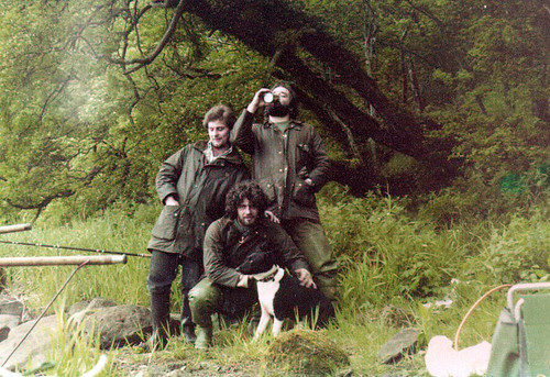 Ian Watson Fishing Ayrshire 1980s