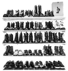 Docs, a few shoes and boots. (CWhatPhotos) Tags: pictures original england blackandwhite 3 love feet me monochrome leather yellow that boot foot shoe photo blackwhite shoes mine foto with hole boots photos 10 lace dr air year over picture 8 wear collection have doctor footwear fotos pairs stitching years z comfort sole doc cushion marten which soles dm exposed docs laces contain drmartens bouncing airwair docmartens welt martens dms laced 1460 drmarten 1490s cushioned wair bouncingsoles yellowstitching cwhatphotos 1460s1490