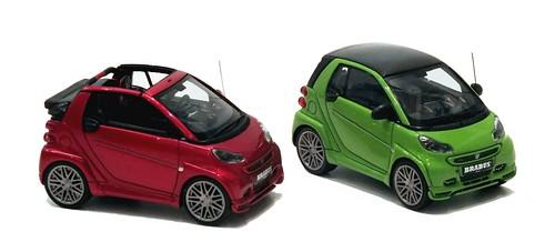 Minichamps Brabus 120 Smart-001
