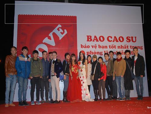 International Condom Day, 2014: Hanoi, Vietnam