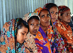 Women of all ages from Khulna, Bangladesh