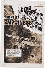 Star Trek The Crier in Emptiness (Power Records, 1975) by Neal Adams (Tom Simpson) Tags: startrek illustration vintage comics comic scifi 1975 70s comicbooks sciencefiction spaceship 1970s ussenterprise comicbookart nealadams