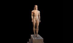 Anavysos Kouros, c. 530 B.C.E.