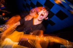 (. . .) Tags: chile show santiago franklin punk long exposure shot action guitar live guitarra crowd centro hardcore scream hc grito cultural