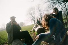 Sunday morning (uncoolbob) Tags: film 35mm flare brockwellpark agfavista200 rolleib35 effrafc