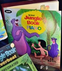 The Jungle Book Piano and Songs (Barry Wallis) Tags: bear ca usa piano banana mowgli panther baloo junglebook bagheera songbook d23 fromthevaults barrywallis