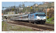 Re 460 014-4 - La Conversion (CC72080) Tags: train sbb locomotive cff re460 laconversion interrégio