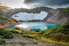 Emerald-Blue Lake