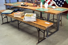 Industrial Picnic Tables and Bench