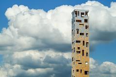 Aussichtsturm 'Himmelsstrmer' (to.wi) Tags: clouds wolken aussicht turm landesgartenschau lgs gmnd badenwrttemberg schwbisch gartenschau aussichtsturm towi