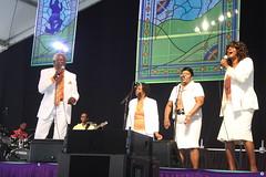 New Orleans Gospel Performers @ Jazzfest (2014) 05 - Heavenly Melodies Gospel Singers (KM's Live Music shots) Tags: unitedstates neworleans gospel gospeltent neworleansjazzheritagefestival heavenlymelodies fairgroundsracecourseneworleans