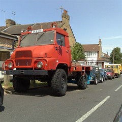 Still not had time (uk_senator) Tags: red truck 1978 simca unic marmon sumb