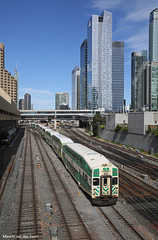 Downtown Toronto (Maurits van den Toorn) Tags: toronto station train downtown gare eisenbahn railway zug bahnhof unionstation trein doubledecker dubbeldekker