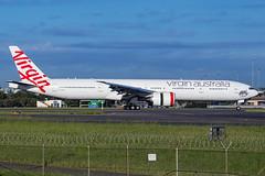 VH-VPH VA B77W 34L YSSY-4725 (A u s s i e P o m m) Tags: mascot newsouthwales australia au virginaustralia virgin velocity va syd yssy boeing b77w sydneyairport