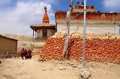 Nepal- Mustang- Lo Mantang (venturidonatella) Tags: asia nepal mustang lomantang buddhism monks monaci buddismo landscape citta city villaggio village