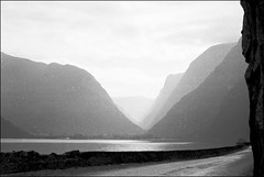Morning Fjord - 1969 09 217 (normko) Tags: norway fjord nordic scandanavia sea inlet morning 35mm film