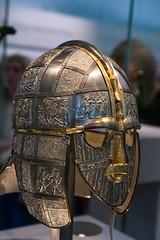 Helmet (Derwisz) Tags: suttonhoo helmet armour anglosaxon museum art historic britishmuseum london england uk unitedkingdom canon eos40d canoneos40d