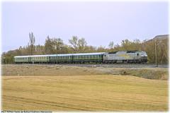 Recuperando (440_502) Tags: 333 320 grupo renfe operadora alquiler de material ferroviario amf rosco prima continental rail avenfer asociación venteña amigos del ferrocarril alsa