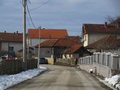 Houses with red tile roofs, Jelovac, Serbia (Paul McClure DC) Tags: resava serbia srbija balkans despotovac jelovac feb2017 pomoravlje architecture historic