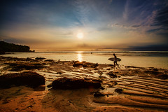 Surfer at Suluban Beach, Bali (syukaery) Tags: indonesia ntt travel bali surfing surfer