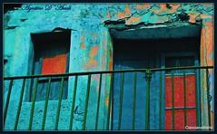 Vecchio prospetto con balcone e finestre - Aprile-2017 (agostinodascoli) Tags: art agostinodascoli cianciana sicilia fullcolor colore creative nikon nikkor photoshop photopainting digitalart digitalpainting digitalgraph texture antico finestre