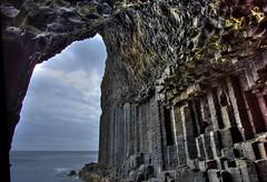 2016_06_15_6D1820 Scotland, Staffa, Fingal's Cave (ElizFlickr) Tags: isle staffa scotland cave sea basalt fingals mendlesohn