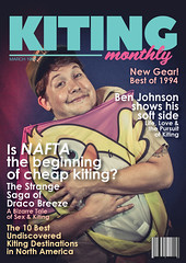Kiting Monthly | Ben Johnson Cover #2 (Dylan Childs) Tags: magazine magazinecover graphic graphicdesign kiting kitingmonthly skyblades comedy humor parody spoof satire sports sportsmagazine retro vintage canon canon5d markiii