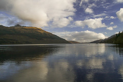 Cloud Reflections (Keith (foggybummer)) Tags: loch lochlomond scotland clouds mountain reflection