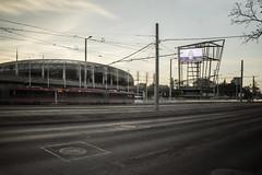 rush hour (TheMutantCow / MutánsTehén) Tags: budapest buda pest budapestism stadion stadionok papplászló aréna sportaréna forgalom rushhour hungary capital city