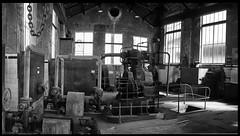museé de la mine saint etienne (LUDOVIC. R) Tags: museé de la mine saint etienne 17mm 28 olympus usine noir et blanc