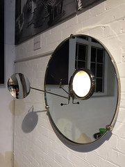 satellite mirror (smallritual) Tags: eileengray furniture modernism aram aramstore london 1920s 1930s