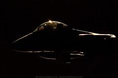 McDonnell Douglas F15 Eagle backlit (Steve Moore-Vale) Tags: mcdonnell douglas boeing f15 eagle fighter jet frontline raflakenheath military uk backlit rimlight golden airbase base outline