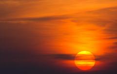 Veiled sun crop (ArtGordon1) Tags: sunset evening weather sky clouds march 2017 walthamstow london england uk e17 davegordon davidgordon daveartgordon davidagordon daveagordon artgordon1