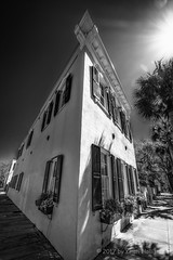 Perspective (HD_Keith) Tags: bw architectural architecture blackwhite blackandwhite building edifice edifices historic historical structures charleston sc usa