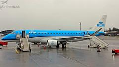 PH-EXI KLM Cityhopper Embraer ERJ-175STD (airliners.sk, o.z.) Tags: embraer erj175std phexi klm cityhopper ekyt sheisapilot airlinerssk aalborg airport aal e175