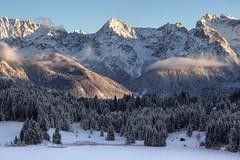 Karwendel view (MC-80) Tags: geroldsee karwendel winter outdoor landschaft abhang