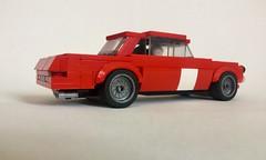 Lego Mercedes-Benz 300SEL 6.8 Race Car - 02 (jonathanelliott2) Tags: vehicle lego mercedesbenz mercedes amg