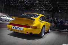 Turning 30 (Iceman_Mark) Tags: ruf ctr porsche 911 yellow yellowbird 34litre flatsix twinturbo aircooled 1987 sportscar salon geneve geneva motorshow 2017