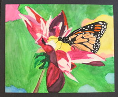 High School Art Show 2011 Color (John Spellman Library at GHC) Tags: highschoolartshow2011 colorart ghc