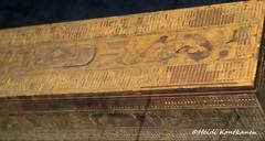 Curtain box of Hetepheres (konde) Tags: box 4thdynasty oldkingdom hetepheres queen tomb giza cartouche snefru treasure hieroglyphs gilded wood ancientegypt cairomuseum