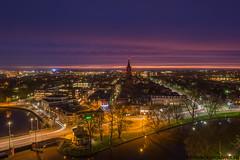 Leeuwarden Skyline at Night