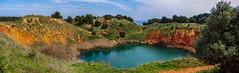 Cava di bauxite - Otranto (Angelo Petrozza) Tags: bauxite otranto puglia cava pentaxk70 angelopetrozza landscape nature panorama red rosso